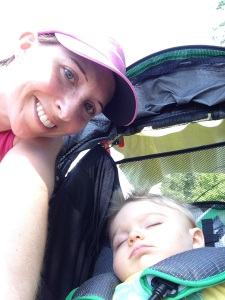 Me and my little running buddy!